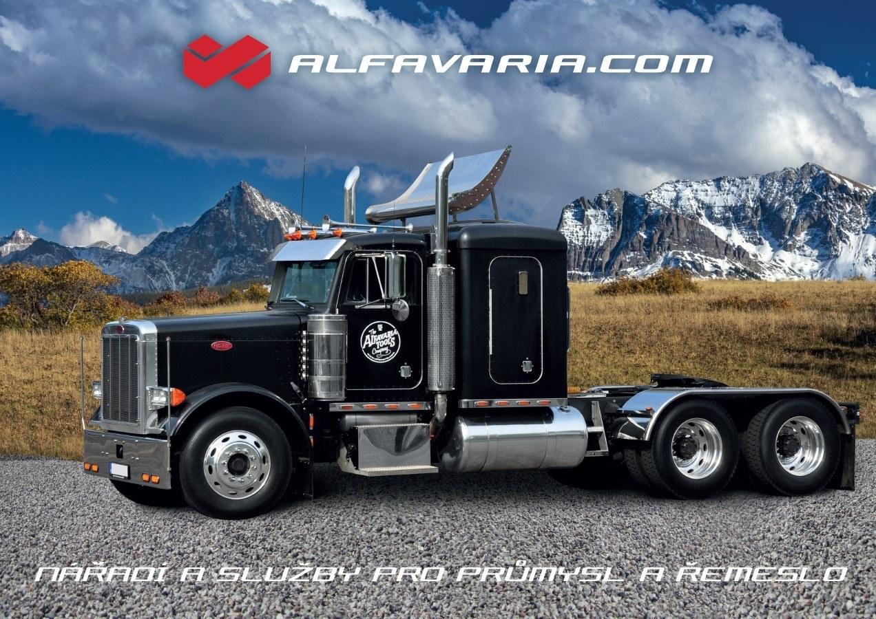 plakát americký truck